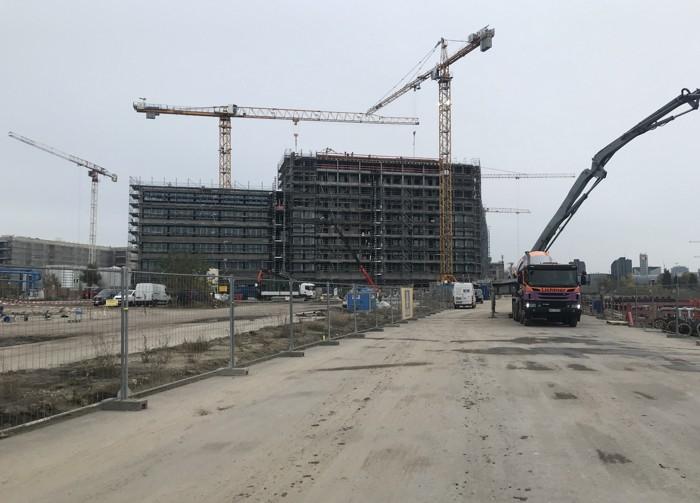 Bauteil CORE, Nov. 2019