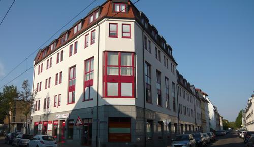 Unser Firmensitz in der Mockauer Str. 95, Leipzig