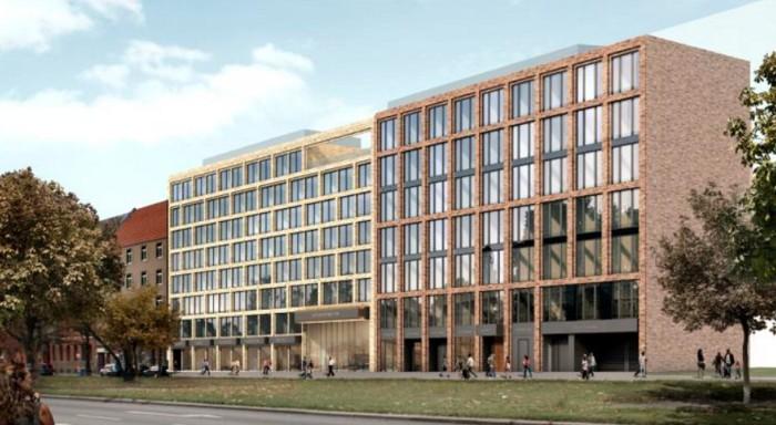 Neubau eines Hotel- und Bürogebäudes mit Tiefgarage, Berlin